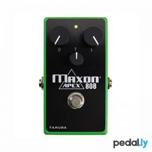 Maxon Apex808 Overdrive Pedal from Pedally