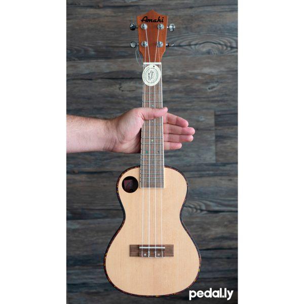 Amahi concert size spruce ukulele from Pedally