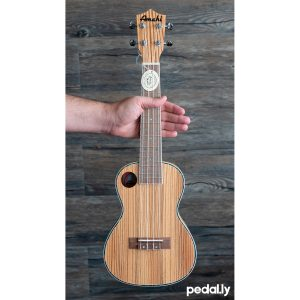 Amahi concert size zebrawood ukulele from Pedally
