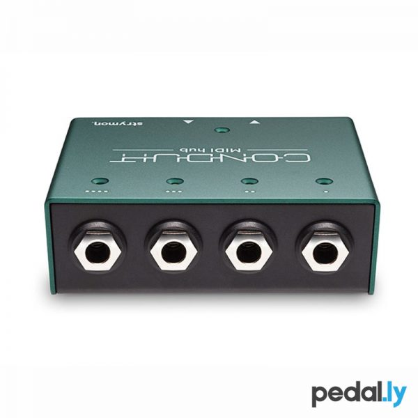 Strymon Conduit MIDI Hub Pedal from Pedally Z12A-CONDUIT back view