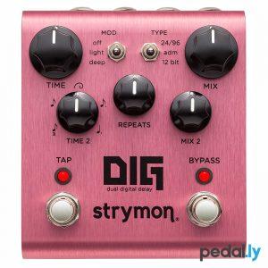 Strymon Dig Dual Digital Delay Pedal from Pedally Z12A-5DIG