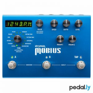 Strymon Mobius Modulation Pedal from Pedally Z12A-MBUS