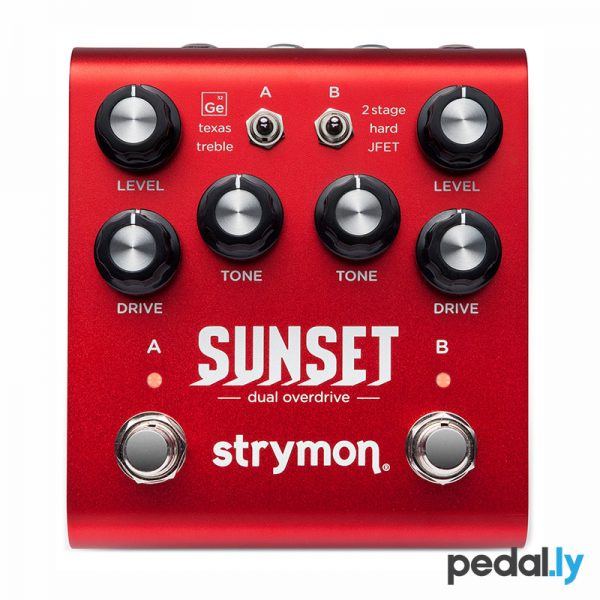 Strymon Sunset Dual Overdrive Pedal from Pedally Z12A-SNST