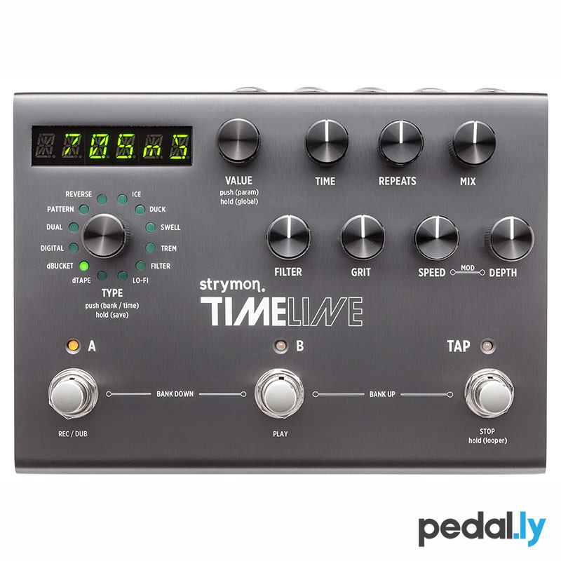 strymon timeline ii multidimensional delay pedal from Pedally z12a-tml2