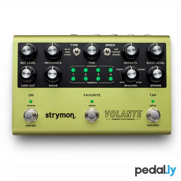 Strymon Volante Magnetic Echo Machine - Delay Pedal from Pedally Z12A-VOLA