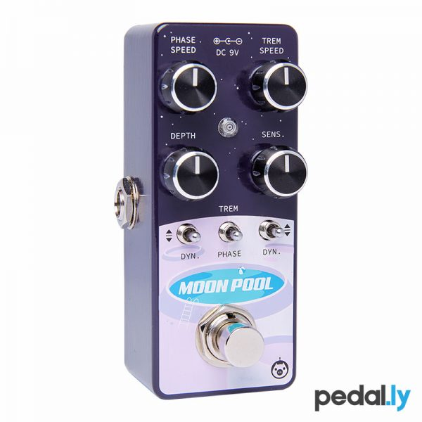 Pigtronix Moon Pool Modulation Pedal EMTP from Pedally angle view