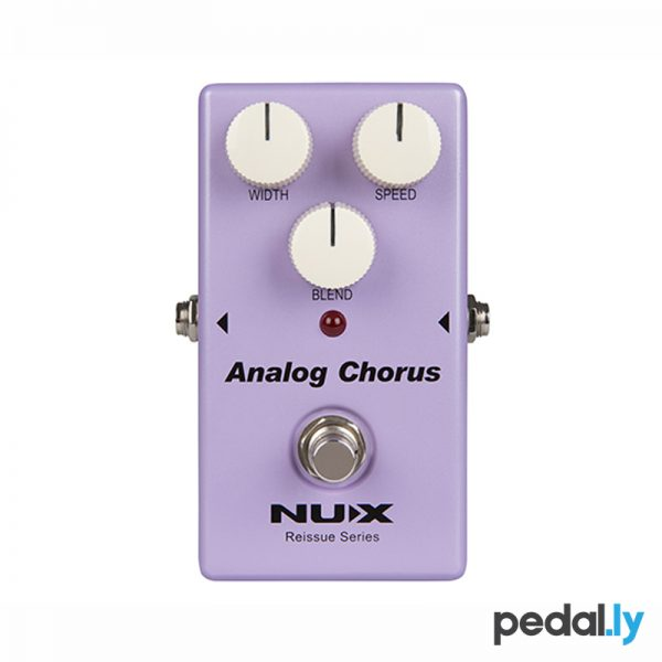 NUX Analog Chorus Pedal from Pedally