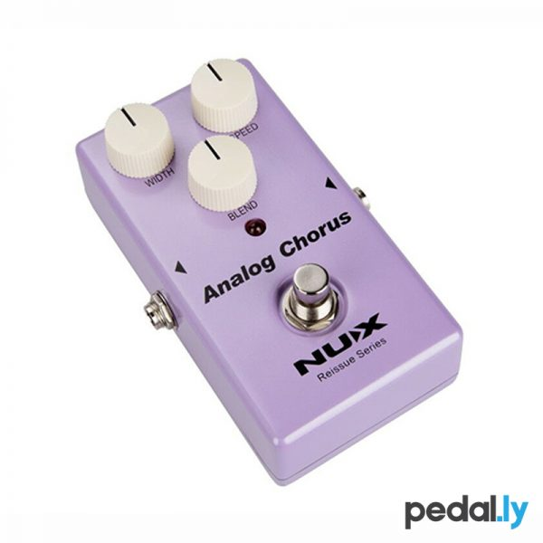 NUX Analog Chorus Pedal from Pedally side 1