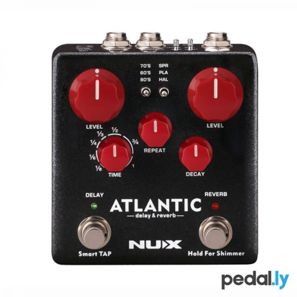 NUX Atlantic Delay Reverb from Pedally NDR-5