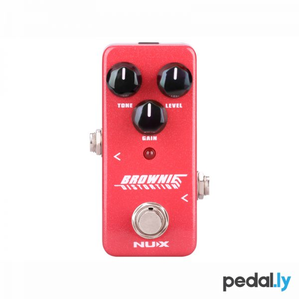 NUX Brownie Distortion Pedal from Pedally