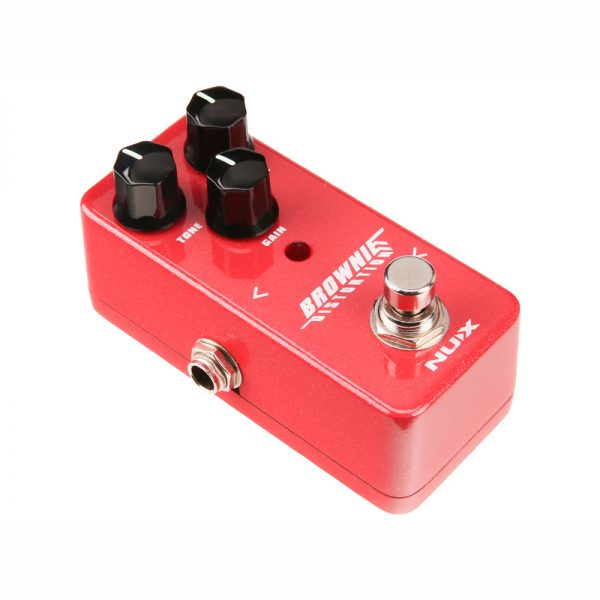 NUX Brownie Distortion Pedal from Pedally side