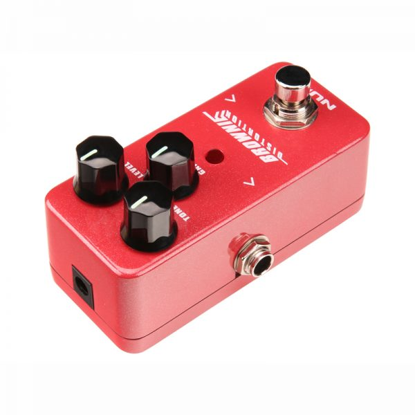 NUX Brownie Distortion Pedal from Pedally top