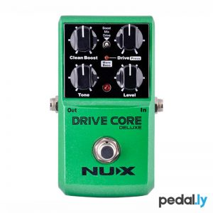 NUX Drive Core Deluxe Overdrive Boost Pedal from Pedally