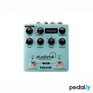 NUX Duotime Dual Delay Engine Pedal from Pedally