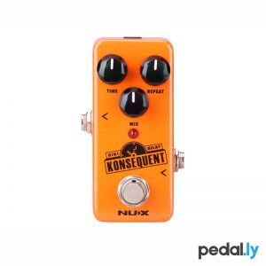 NUX Konsequent Digi Delay Pedal from Pedally