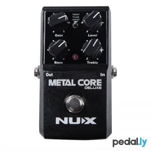 NUX Metal Core Deluxe Distortion Pedal from Pedally
