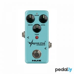 NUX Morning Star Overdrive Pedal from Pedally