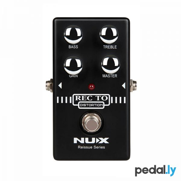 NUX Recto Distortion Pedal from Pedally