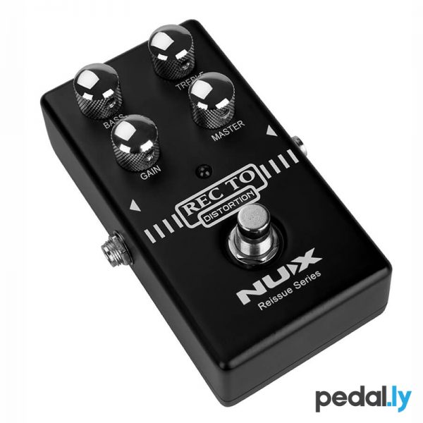 NUX Recto Distortion Pedal from Pedally side view