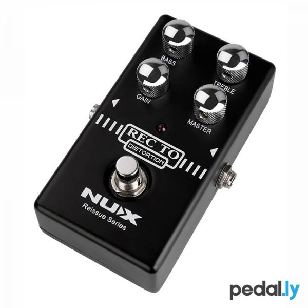 NUX Recto Distortion Pedal from Pedally side view 2