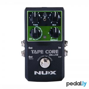 NUX Tape Core Deluxe Tape Echo Pedal from Pedally