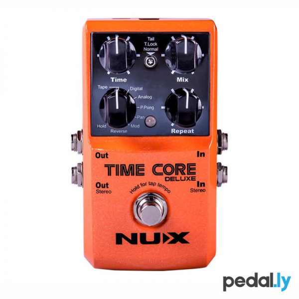 NUX Time Core Deluxe Delay Looper Pedal from Pedally