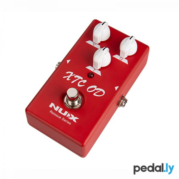 NUX XTC Overdrive Distortion Pedal from Pedally side 2