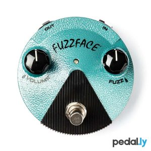 Dunlop Jimi Hendrix Fuzz Face Mini Distortion Pedal from Pedally FFM3