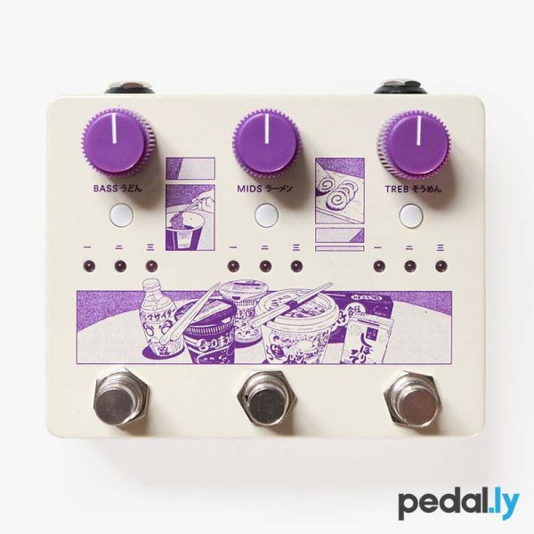 Ground Control Audio Noodles Boost Pedal from Pedally