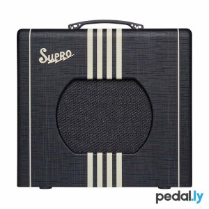 Supro Delta King 10 Black Cream Guitar Amp from Pedally