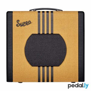 Supro Delta King 10 Tweed Black Guitar Amp from Pedally